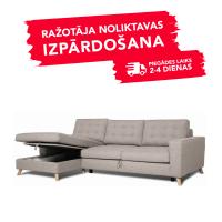 Dīvāns Porto Sleeping (Kreisais stūris, izvelkams)