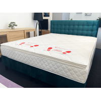 Kontinentālā gulta TRADE (160 x 200cm, velveta audums)