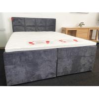 Kontinentālā gulta VARENA (160 x 200cm, samta audums)