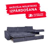 Dīvāns ELBA (Labais stūris, izvelkams)(Purple)