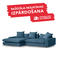 Dīvāns APOLLO (Kreisais stūris, samta)