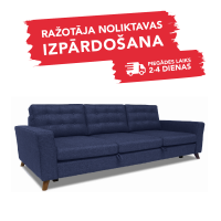 Dīvāns Porto Sleeping (Trīsvietīgs, izvelkams)