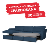 Dīvāns ETNA SLEEPING (Kreisais stūris, izvelkams)