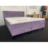 Kontinentālā gulta LIMA (160 x 200cm, samta audums)