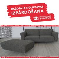 Komplekts SILVER (Dīvāns un pufs)