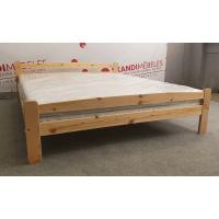 Koka gulta + matracis ALTENA (160x200cm)