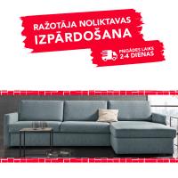 Dīvāns ELBEKO (Labais stūris, izvelkams)