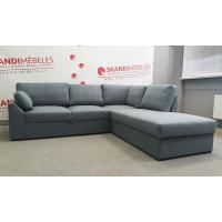 Dīvāns Modern Sleeping (Labais stūris, izvelkams)(Blue)