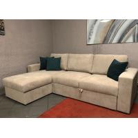 Dīvāns ELBA (Kreisais stūris, izvelkams)(Sand)