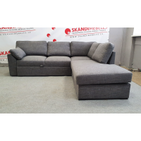 Dīvāns Modern Sleeping (Labais stūris, izvelkams)(Grey)