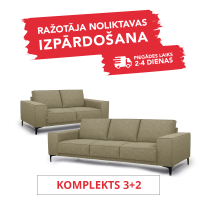Komplekts COPENHAGEN (3+2 Dīvānu komplekts)