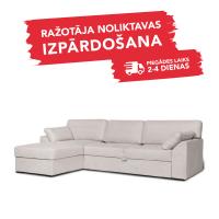 Dīvāns Modern Sleeping (Kreisais, izvelkams)(Latte)