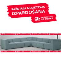 Dīvāns MOVE (Stūra 342 x 342cm)