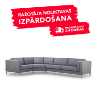 Dīvāns Messi (Stūra Slēgtā)
