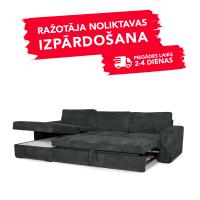 Dīvāns Modern Sleeping (Kreisais stūris, izvelkams)(Antrazite)