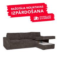 Dīvāns Modern Sleeping (Labais stūris, izvelkams)(Brown)