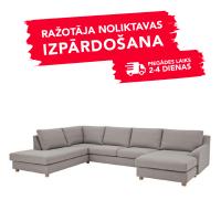 Dīvāns Nordic Living (U veida stūra)