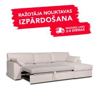 Dīvāns Modern Sleeping (Labais stūris, izvelkams)(Light Latte)