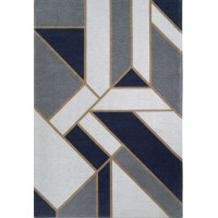 Paklājs GATSBY DARK BLUE (Art Deco Collection)