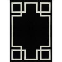 Paklājs HAMPTON BLACK (Art Deco Collection)