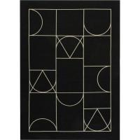 Paklājs SIGNET BLACK (Art Deco Collection)