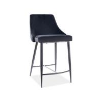 Pusbāra krēsls Moca B H-2 (Velvets)