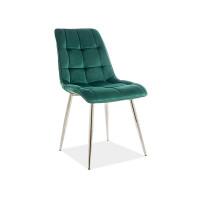 Virtuves krēsls Pearl (Velveta/Hromētas kājiņas)