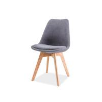 Virtuves krēsls Oken (Audums/Ozolkoks)