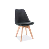 Virtuves krēsls Oken (Velvets/Ozolkoks)