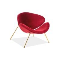 Virtuves krēsls Crocus (Velveta/Zelta kājiņas)