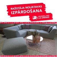 Dīvāns Move (Stūra + Pufs)