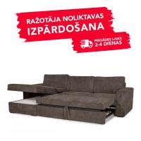 Dīvāns Modern Sleeping (Kreisais stūris, izvelkams)(Brown)
