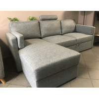 Dīvāns Modern Sleeping (Kreisais stūris, izvelkams) + galvgalis