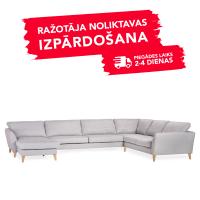 Dīvāns Paris (U veida)