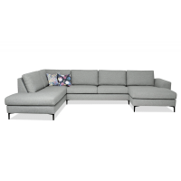Dīvāns Henry (U veida)