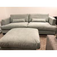 Dīvāns ar pufu Brad (Komplekts)